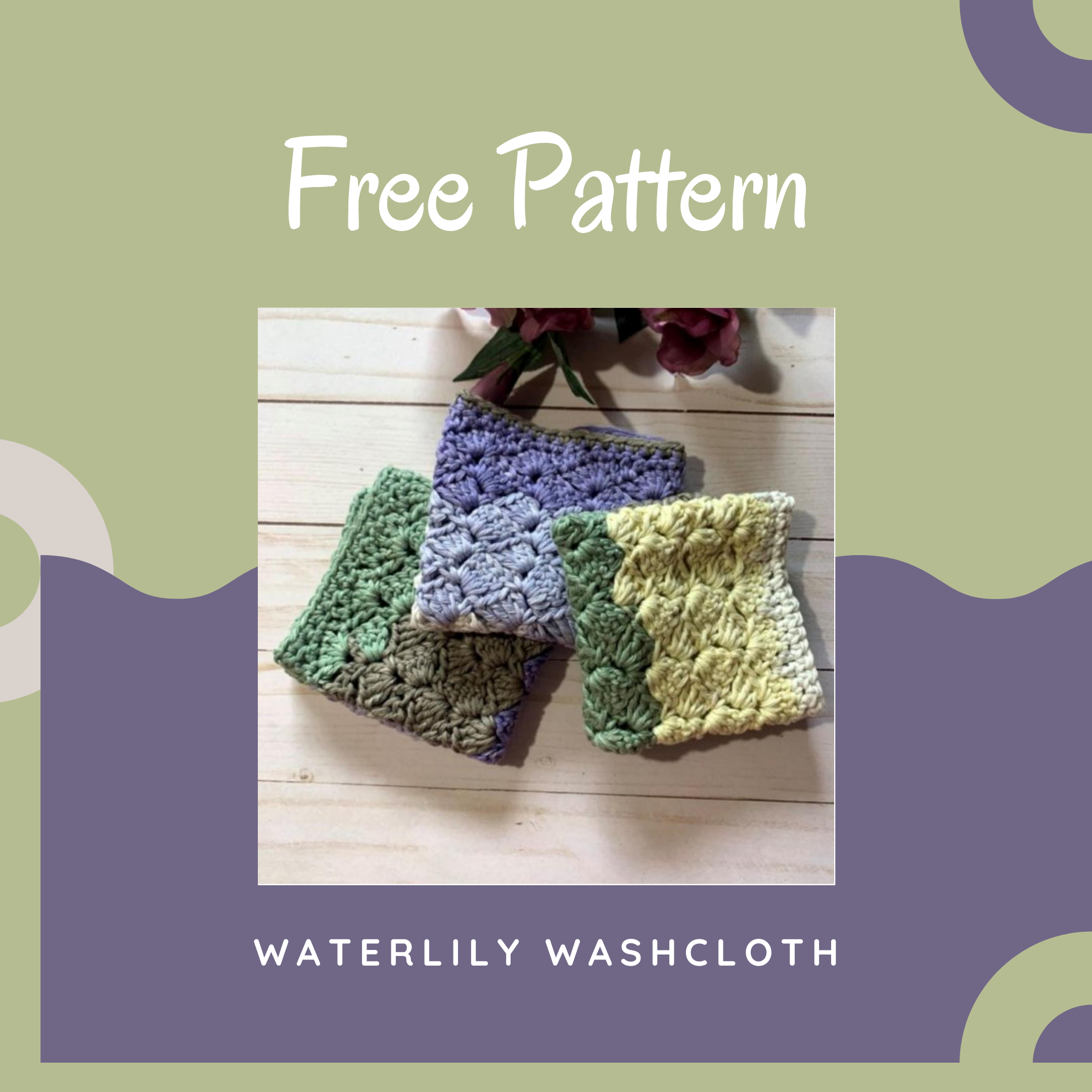 Cotton Washcloth Crochet Pattern
