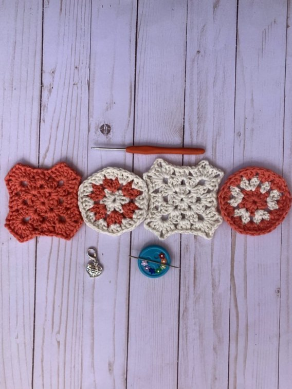 XOXO Granny Square Tutorial
