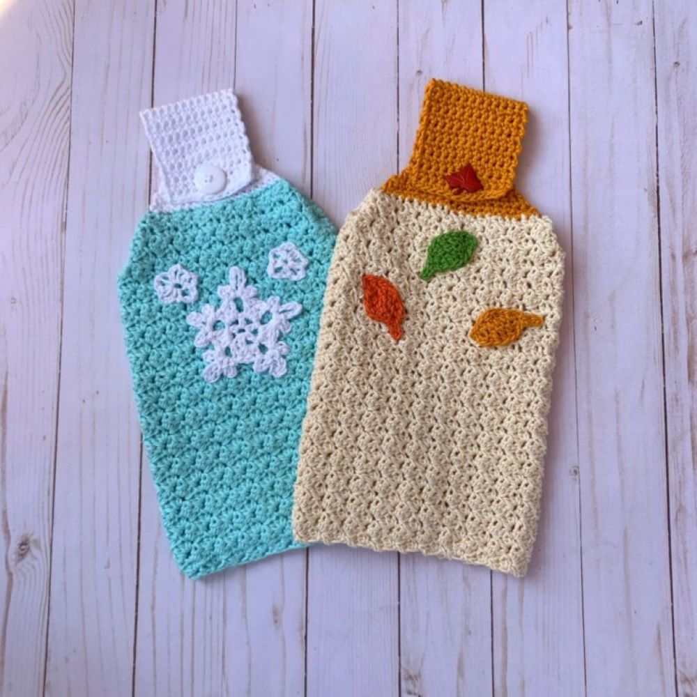 Cozy Kitchen Towels Free Pattern