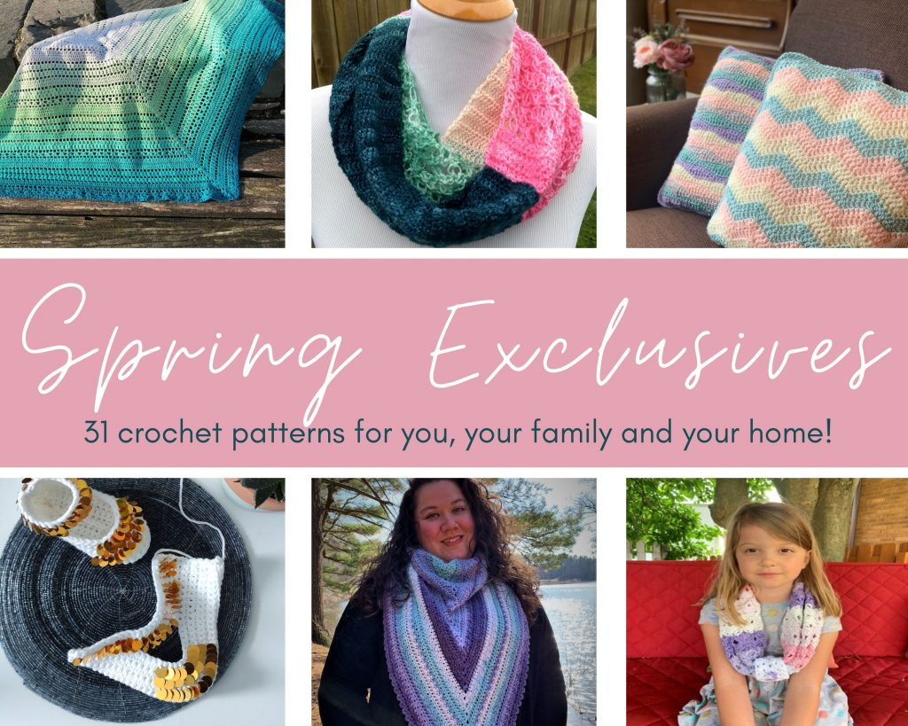 Spring Exclusives Bundle Image showing patterns available.