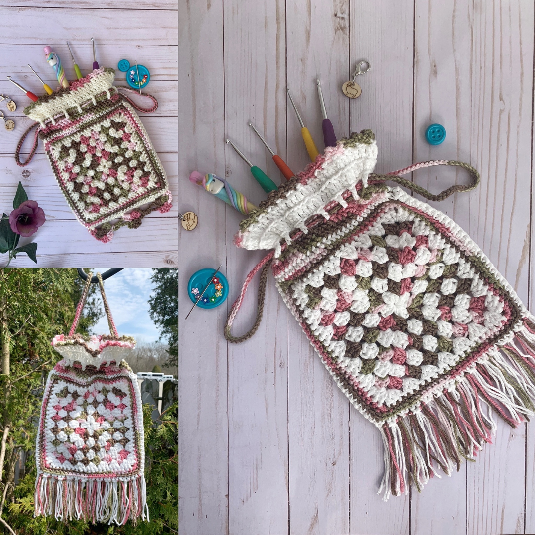 Read more about the article Granny Squares Bag Crochet Pattern