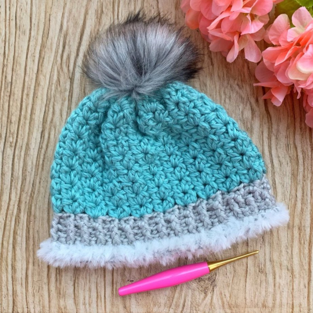 Read more about the article Crochet Beanie Free Crochet Pattern