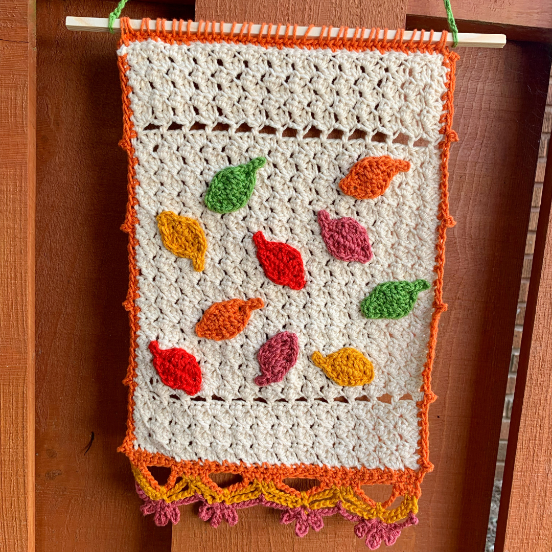 Read more about the article Autumn Wall Hanging Crochet Pattern
